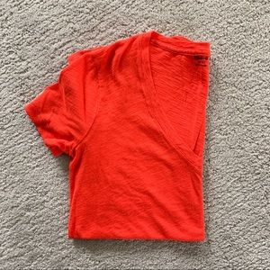 Madewell whisper v-neck pocket tee